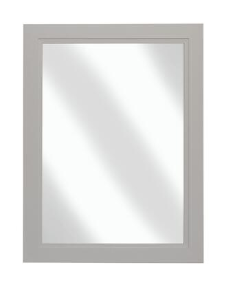 Urban Collection URBMD23M 23 inch  x 30 inch  Mirror with Bevel Shaker Style Frame and Hanging Wire Included in Morning