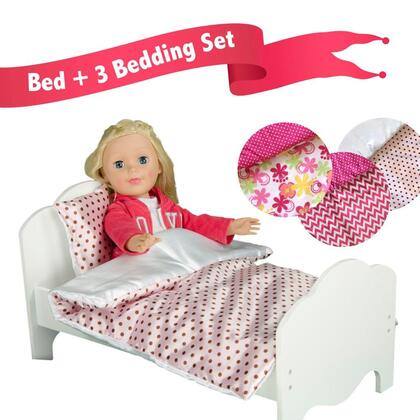 Click here for TD-11929-3B Teamson Kids - Little Princess 18 Doll... prices