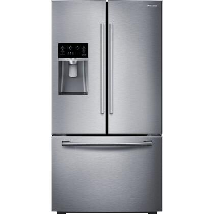 """RF23HTEDBSR 36"""" ENERGY STAR French Door Refrigerator with 23 Cu. Ft. Capacity  Food Showcase  Metal Cooling  Twin Cooling Plus  Ice Master  and High-Efficiency"""
