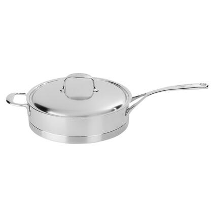 Demeyere 41428A-41528 Atlantis 5.1-Qt Stainless Steel Saute Pan With Helper Handle