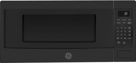 PEM31FMDS 24 inch  1.1 cu. ft. Capacity Built-In 800 Watt Microwave Oven  Sensor Cooking  Auto & Time Defrost  Turntable with On/Off  Control Lockout  in Black