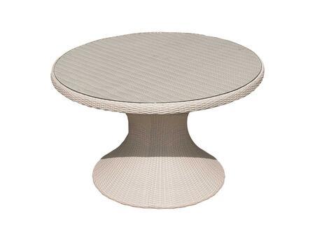 HE60W 60 inch  Helena Table White