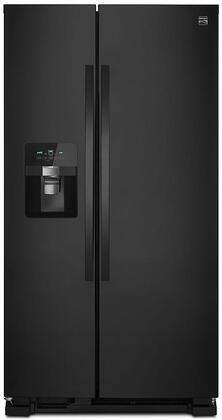 51119 36 Side-by-Side Refrigerator with 24.55 cu. ft. Total Capacity  Frost-Free Operation  Water and Ice Dispenser and LED Lighting in