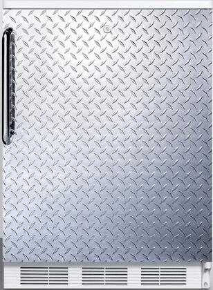 FF6LBI7DPL 34 inch  FF6BI7 Series Medical  Commercially Listed Freestanding or Built In Compact Refrigerator with 5.5 cu. ft. Capacity  Front Door Lock  Interior