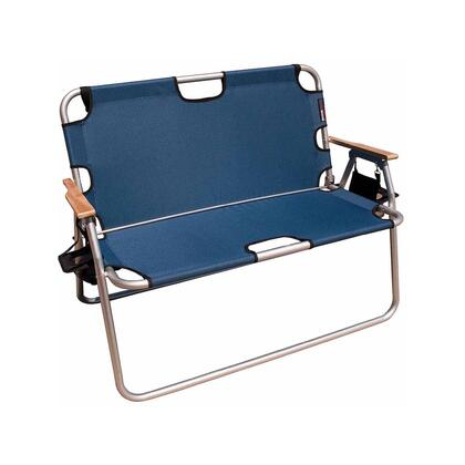771775DH 44 inch  Tailgater - Two-Person Folding Aluminum Chair in