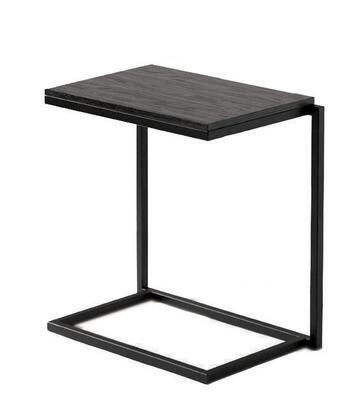 28220.03.162 Stacking C Writing Desk With 1 inch  Steel Tube Frame .75 inch  Thick Veneered Wood Tops  Black Powder Coated Frame & Steel Construction