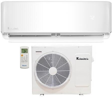 KSIE009-H116 Mini Split System with 9000 BTU Cooling Capacity  Heat Pump  16 SEER and Remote