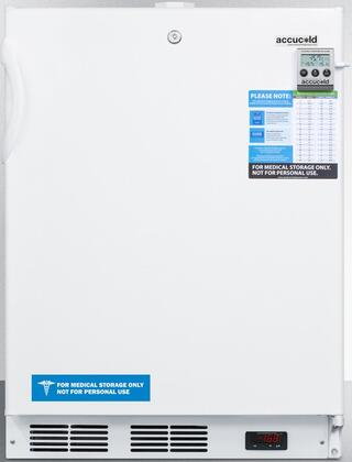 ACF48WMEDDT 24 inch  Medical Freestanding or Built In Compact Freezer with 3.1 cu. ft. Capacity  NIST Calibrated Temperature Display  Temperature Alarm and Hospital