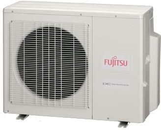 FUJITSU AOU24RLXFZ 2 TON Triple Zone Outdoor Mini-Split Inverter Heat Pump Unit, 18 SEER 208-230/60/1 R-410A CFM 1619-1795