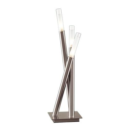LSH-ICICLE TBL Icicle Contemporary Table Lamp in Brushed