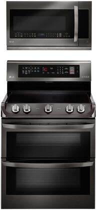 2 Piece Kitchen Appliance Package with LDE4415BD 30