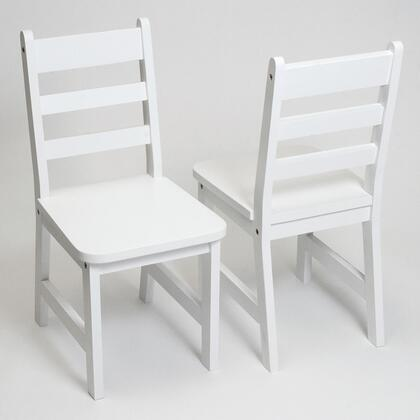 523/4W Set of Two Children's Chairs in