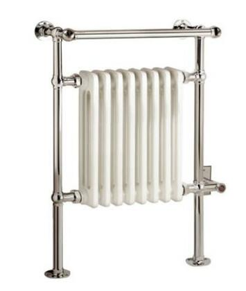 EVR1-SN Dee Collection Traditional Electric Towel Warmer: Satin