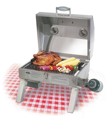 BH212MG-2 The Companion Liquid Propane Gas Grill With 212 sq. in. Cooking Surface  Complete Stainless Steel Construction  Low/Medium/High Adjustable Burner