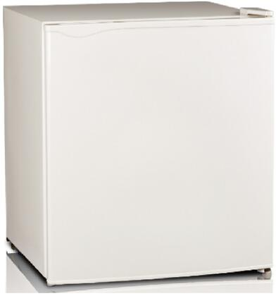 FR52-11W 19 inch  Upright Freezer with 1.1 cu. ft. Capacity  Environment-friendly Technology  Reversible Door  Mechanical Temperature Control and Adjustable Leg in