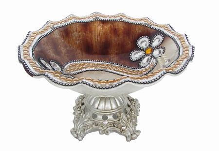 V1003 D'Lusso Designs 14 Inch Brown Flower