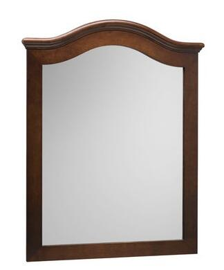 606030-F11 30 inch  x 38 inch  Marcello Style Wood Framed Mirror: Colonial