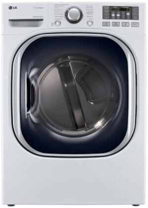 SteamDryer DLGX4071W 7.4 cu. ft. Ultra Large Capacity Gas Dryer With TrueSteam Technology  SteamFresh Cycle  SteamSanitary Cycle  Intelligent Electronic