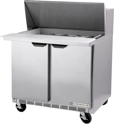 SPE36-10 36 inch  2 Door Refrigerator Prep