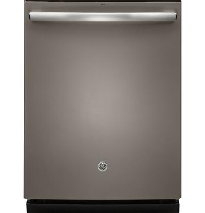 "GE 24"" Top Hidden Control Tall Tub Built-In Dishwasher with Stainless Steel Tub Slate GDT655SMJES"