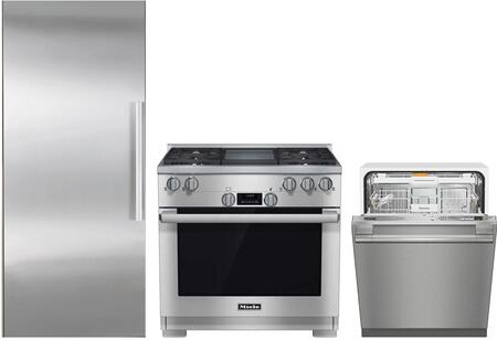 3-Piece Kitchen Appliance Package in Stainless