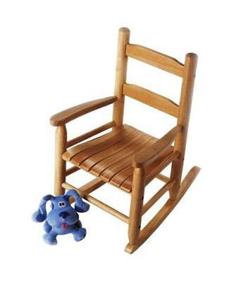 555P Child's Rocking Chair in Pecan