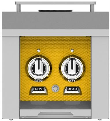 AGB122LPYW 12 inch  Built-In Liquid Propane Double Side Burners with 30 000 BTU Total Heat Output  in Sol