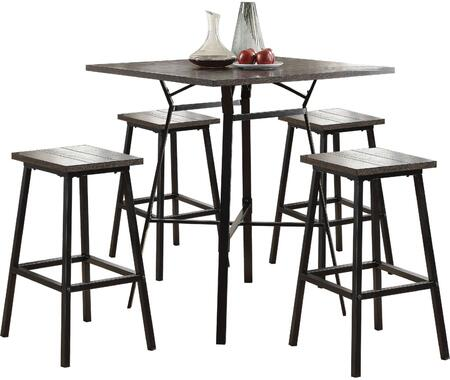 Dora Collection 72750 5 PC Bar Set with