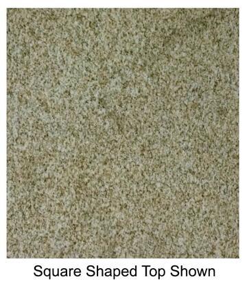 "G21230x60 30"""" x 60"""" Rectangular Natural Granite Tabletop in Giallo"" 526661"