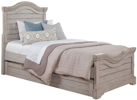Stonebrook Youth 7820-46PAN-906 Full Bed and Trundle with Molding Details  Distressed Detailing and Veneer Construction in Antique