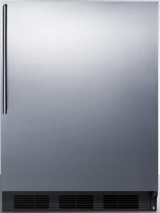 CT66BBISSHHADA 24 inch  CT66JBIADA Series ADA Compliant Medical Freestanding or Built In Compact Refrigerator with 5.1 cu. ft. Capacity  Interior Lighting  Dual
