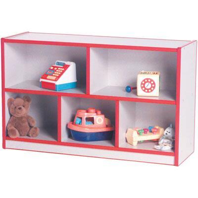 M50850YL Preschool Single-Sided Storage Unit Maple Finish  Edge Color -