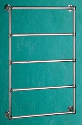 B35-1-PC Thirlmere Hydronic Traditional Towel Warmer In Polished
