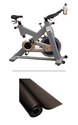 ESB250-RF34B Set with Endurance Exercise Bike and Bike