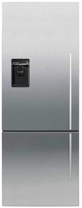 Fisher Paykel RF135BDLUX4N 25 Inch Counter Depth Bottom Freezer Refrigerator