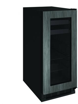 U-1215BEVINT-00A 15 inch  1000 Series Beverage Center with 3 cu. ft. Capacity  Passive Cooling System  2 Glass Shelves  2 Wine Racks  and Reversible Door  in Panel