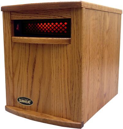 Sunheat Amish Nebraska Oak Electric Portable Infrared Heater