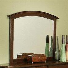 280701 Firefly Dark Beveled Mirror Made of Solid Cherry