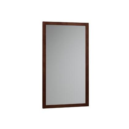 600118-H01 32 inch  Wood Framed Mirror: Dark