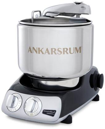 AKM6230BD Ankarsrum Original Mixer with 7 Liter Stainless Steel Bowl  3.5 L Double Whisk Bowl  Dough Hook  Roller  Scraper  Spatula  Dust Cover  Cookie Beaters