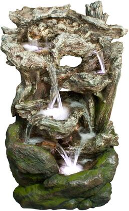 WIN732 Rainforest Waterfall Fountain w/ Led