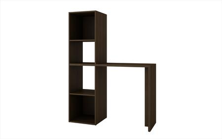 92AMC49 Campania Cubby Desk with 4 Shelves in
