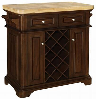 KC2578-C270-36 Fontaine Kitchen Islands With 2 Pass-Through Drawers  Soft Close Hinges  2 Towel Bars  Locking Casters  Prominent Rounded Corner Base & In