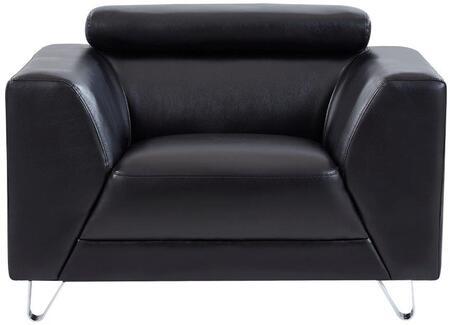 U8210 - PLUTO BLACK - CHAIR 44