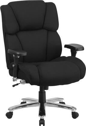 GO-2149-GG HERCULES Series 24/7 Intensive Use  Multi-Shift  Big & Tall 400 lb. Capacity Black Fabric Executive Swivel Chair with Lumbar Support