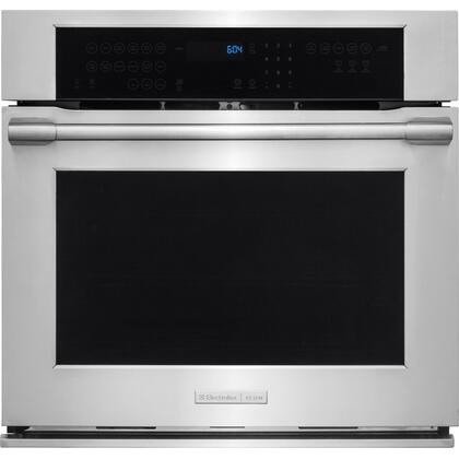E30EW75PPS 30 inch  Professional Series Dual Convection Oven with 4.8 cu. ft. Capacity  Temperature Probe  Smooth-Glide Self-Cleaning Oven Racks and Rapid Preheat
