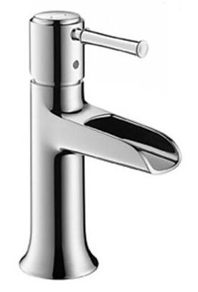 Hansgrohe 14127001 Talis C Open Spout Single-Hole Lavatory Faucet, Chrome
