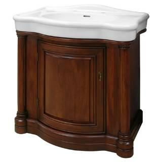 WIA3021 30 inch  Wingate Collection Vanity Combo with Vitreous China and an Adjustable Shelf in a Premium Deep Cherry