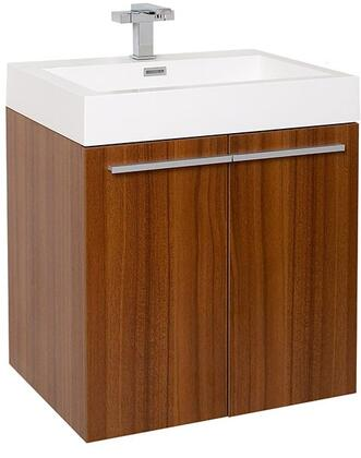 Alto Fcb8058tk-i Single Sink Vanity With 2 Soft Closing Doors  Acrylic Countertop And Integrated Sink In