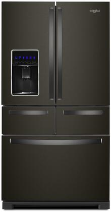 WRV986FDHV 36 inch  French Door Refrigerator with 26 cu. ft. Total Capacity  in Black Stainless
